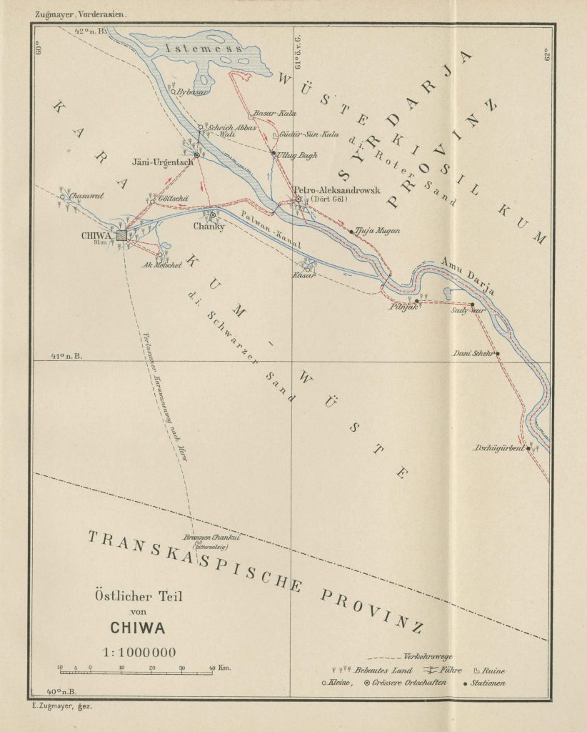 The eastern part of Chiwa 1905